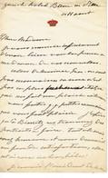 Duc De Valence à...... Zurich Hôtel BAUR Le..... - Autografi
