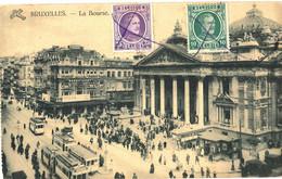 Belgie - Belgique - Bruxelles - La Bourse - Pubs, Hotels, Restaurants