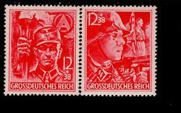 Deutsches Reich 909 - 910 Parteiorganisationen MNH Postfrisch ** Neuf - Nuevos