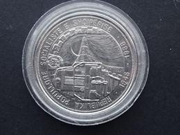 Münze Albanien 5 Leke  Dieselzug 1988 - Albanien