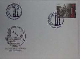 Portugal - 40 Anos 25 De Abril 1974/2014 - ARPCA - Monumento à Liberdade - Almada - Mãos - Hands Liberty - Marcofilie