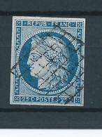 Ceres N°4 Bleu TB,côte (Y&T) :65€ - 1849-1850 Ceres