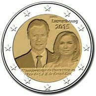 Euro LUXEMBOURG 2015 : 2 € Commémorative Anniversaire Accession Au Trone Grand-Duc Henri (De Rouleau) - Luxembourg