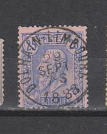 COB 48 Centraal Gestempeld Oblitération Centrale DOLHAIN-LIMBOURG - 1884-1891 Leopold II