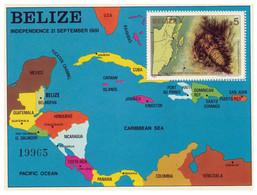 BELIZE - 1er Anniversaire Indépendance - 1981 - MNH - Belize (1973-...)