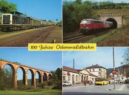 100 Jahre Odenwaldbahn 1882-1982, Ungelaufen - Trains