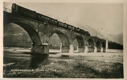 Dampfzug Domodossola,Ponte Sul Toce, Ungelaufen - Treni