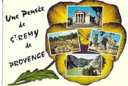 CPM SAINT REMY  13  :  Multi-Cartes    Grd F    Non-Voyagée - Saint-Remy-de-Provence