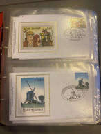 Lot Fdc Inzet 1€ - 2001-10
