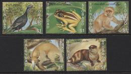 Trinidad And Tobago (03) 1989 Rare Fauna Of Trinidad And Tobago Set. Mint. Hinged. - Trinidad & Tobago (1962-...)