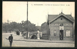 CPA Suresnes, Le Pont De Suresnes Et L`Octroi - Suresnes