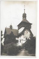 L54B425 - Maison Avec Façade Décorée - Eglise? - J.Linhart Turnov - Repubblica Ceca