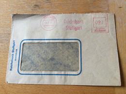 K13 Alliierte Besetzung 1946 Brief Mit Afs Von Stuttgart Aptierter Stempel!!! - American,British And Russian Zone
