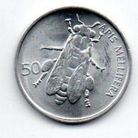 Slovénie - 50 Stotinov 1993 - UNC - Eslovenia