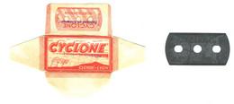 Lame De Rasoir Française CYCLONE - French Safety Razor Blade Wrapper - Razor Blades