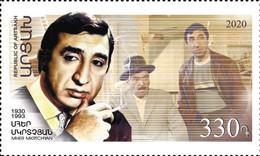 Artsakh - Armenia - Nagorno Karabakh 2020 MNH** Mi 230 90th Anniversary Of Mher Mkrtchyan Frunzik USSR Film Actor - Arménie