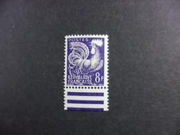 FRANCE 8 Francs Coq Sans La Préoblitération Yvert Estime Qu'il N'existe Pas Neuf Sans Charnière Voir Commentaire - Curiosities: 1960-69 Mint/hinged