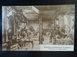 Tournus Manufacture Métallurgique De Tournus Presses à Emboutir - Andere Gemeenten