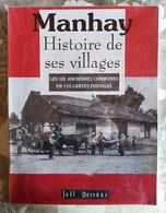 Manhay, Histoire De Ses Villages, J. Derenne, 1999 (cartes Postales) - België