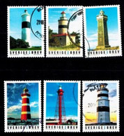 Mi. F.u. 3207-12, Lighthouses  S206 - Gebruikt