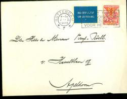 BRIEFOMSLAG Uit 1926 Van ROTTERDAM * BESTELLEN OP ZONDAG* Naar APELDOORN * NVPH 168   (11.863o) - Briefe U. Dokumente