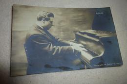 BELLE CARTE ..PIANISTE ....A. FERTE..PHOTO  COUTIN FILS PARIS - Musica E Musicisti