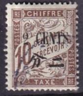 CHINE - 2 C. Sur 10 C. Taxe Oblitéré TTB - Postage Due