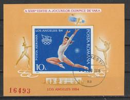 1984 -  J.O. LOS ANGELES  II  Mi No Block 208 - Gebraucht