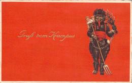78739- Gruß Vom Nikolo Krampus Nikolaus Weihnachtsmann - Sinterklaas