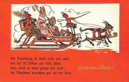 78737- Gruß Vom Nikolo Krampus Nikolaus Weihnachtsmann - Sinterklaas