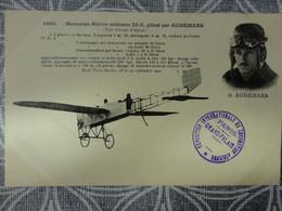 AVION MONOPLAN BLERIOT MILITAIRE XI-2 PILOTE PAR AUDEMARS EXPOSITION PARIS GRAND PALAIS - ....-1914: Vorläufer