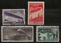 Russie 1931 N° Y&T : PA. 22 Et 24 à 26 Obl. - Gebruikt