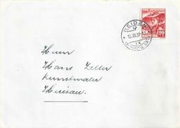 Brief  Heiden - Herisau  (PJ Frankatur)          1939 - Covers & Documents