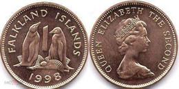 Falkland Island - 1 Penny 1998 UNC Roll - Falkland Islands