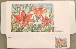 Canada Stationery Aerogramme Flower Of Saskatchewan Prairie Lily- Unused - Otros