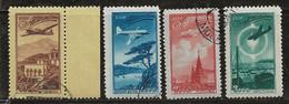 Russie 1949 N° Y&T : PA. 90,92,95 Et 96 Obl. - Gebruikt