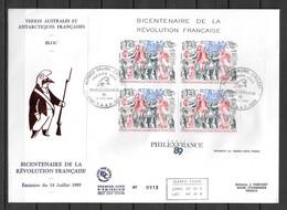 FDC - 1989 - BF 1 - 200 Ans Révolution Française - FDC