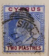 Chypre 1903-1908 - Bureaux Russes -  Y&T  N° 37- 2pi. Outremer Et Vert /0/ - Otros
