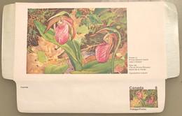 Canada Stationery Aerogramme Flower Of Prince Edward Island Ladys Slipper- Unused - Otros