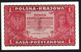 POLOGNE - 1 MARKA 1919 - UNC - Poland