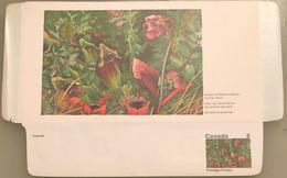 Canada Stationery Aerogramme Flower Of Newfoundland Pitcher Plant- Unused - Otros