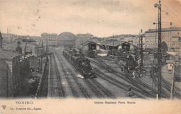 CPA TORINO - Interno Stazione Porta Nuova - Stazione Porta Nuova