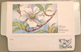 Canada Stationery Aerogramme Flower Of British Columbia Pacific Dogwood- Unused - Otros