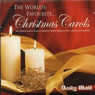 THE WORLD'S FAVOURITE... CHRISTMAS CAROLS [DAILY MAIL PROMOTIONAL PROMO CD] GOOD CONDITION XMAS SONGS MUSIC CAROLS - Kerstmuziek