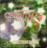 SIMPLY THE BEST CHRISTMAS ALBUM [SUNDAY EXPRESS PROMOTIONAL PROMO CD] VERY GOOD CONDITION XMAS SONGS MUSIC CAROLS - Kerstmuziek