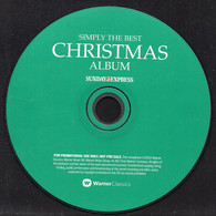 SIMPLY THE BEST CHRISTMAS ALBUM [SUNDAY EXPRESS PROMOTIONAL PROMO CD] VERY GOOD CONDITION XMAS SONGS MUSIC CAROLS - Canzoni Di Natale