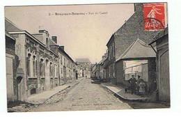 BRAY SUR SOMME * RUE DU CASTEL * 1909* - Bray Sur Somme