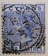 Chypre 1903-1908  -  Y&T  N° 11- 2pi. Outremer /0/ - Otros