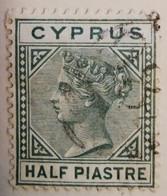 Chypre 1903-1908  -  Y&T  N° 9- 1/2pi. Vert /0/ - Otros