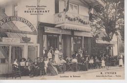 CPA Joinville-le-Pont - Café Des Sports - Restaurant Stefgen - Locations De Bateaux (très Belle Animation) - Joinville Le Pont